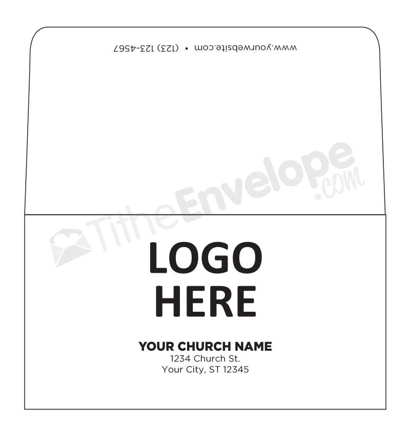 remittance envelope template .