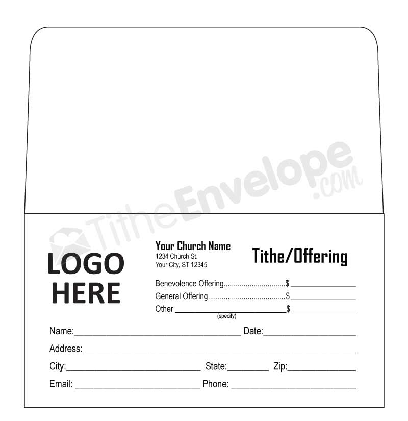 Offering Envelope Printing Customized Offering Envelope