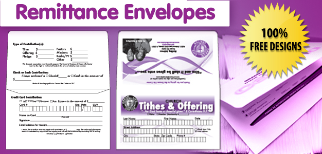 Remittance Envelopes Banner